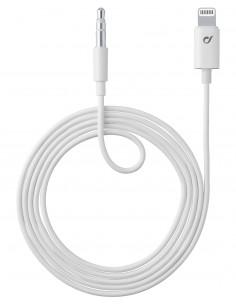 Cellularline AUXMUSICMFIW Lightning-kaapeli Valkoinen Cellularline AUXMUSICMFIW - 1