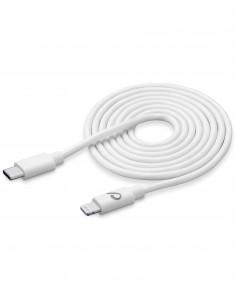 Cellularline USBDATAC2LMFI2MW Lightning-kaapeli 2 m Valkoinen Cellularline USBDATAC2LMFI2MW - 1