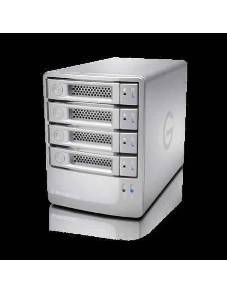 G-Technology G-SPEED Q levyjärjestelmä 8 TB Hopea G-technology 0G02837 - 3
