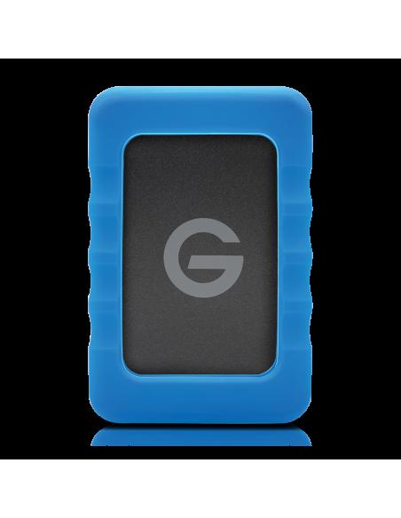 G-Technology G-DRIVE ev RaW ulkoinen kovalevy 500 GB Musta, Sininen G-technology 0G04106 - 2