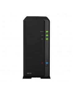 Synology DiskStation DS118 NAS- & lagringsservrar Kompakt Nätverksansluten (Ethernet) Svart RTD1296 Synology DS118 - 1