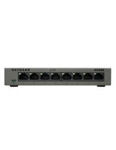 Netgear GS308 Ohanterad Gigabit Ethernet (10/100/1000) Grå Netgear GS308-100PES - 1