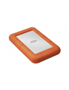 LaCie Rugged Mini ulkoinen kovalevy 1000 GB Oranssi, Hopea Lacie 301558 - 1