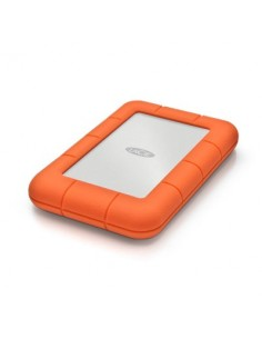 LaCie Rugged Mini ulkoinen kovalevy 5000 GB Oranssi Lacie STJJ5000400 - 1