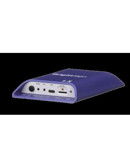 BrightSign LS424 digitaalinen mediasoitin Full HD 1920 x 1080 pikseliä Purppura, Valkoinen Brightsign LS424 - 2