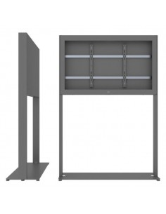 """SMS Smart Media Solutions 55L Casing Freestand Basic G1 DG 139.7 cm (55"""") Grey Sms Smart Media Solutions 702-006-21 - 1"""