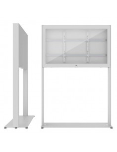 """SMS Smart Media Solutions 43P Casing Freestand Storage G2 WH 109.2 cm (43"""") White Sms Smart Media Solutions 702-007-42 - 1"""