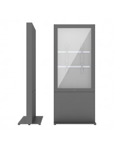 """SMS Smart Media Solutions 49P Casing Freestand Storage G2 DG 124.5 cm (49"""") Grå Sms Smart Media Solutions 702-008-22 - 1"""