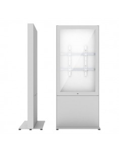 """SMS Smart Media Solutions 49P Casing Freestand Storage G2 WH 124.5 cm (49"""") Vit Sms Smart Media Solutions 702-008-42 - 1"""