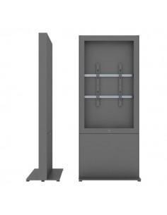 """SMS Smart Media Solutions 55P Casing Freestand Storage G1 DG 139.7 cm (55"""") Grå Sms Smart Media Solutions 702-009-21 - 1"""