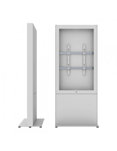 """SMS Smart Media Solutions 55P Casing Freestand Storage G1 WH 139.7 cm (55"""") Vit Sms Smart Media Solutions 702-009-41 - 1"""