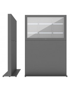 """SMS Smart Media Solutions 49L Casing Freestand Storage G2 DG 124.5 cm (49"""") Grey Sms Smart Media Solutions 702-011-22 - 1"""