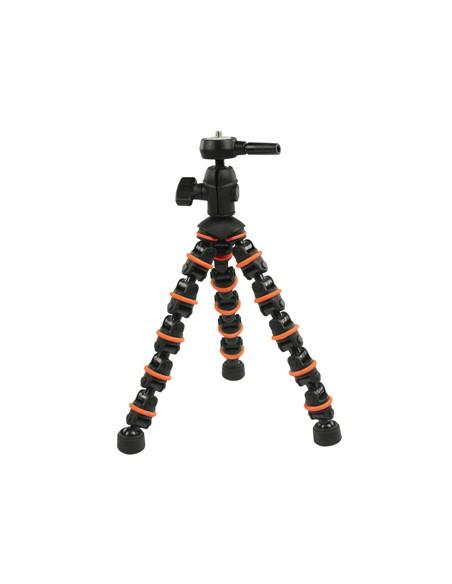 CamLink CL-TP140 kolmijalka Digitaalinen ja elokuva-kamerat 3 jalkoja Musta, Oranssi Camlink CL-TP140 - 2