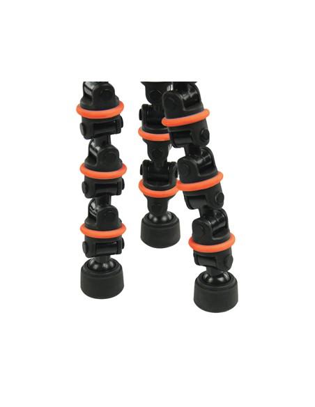 CamLink CL-TP140 kolmijalka Digitaalinen ja elokuva-kamerat 3 jalkoja Musta, Oranssi Camlink CL-TP140 - 4