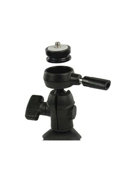 CamLink CL-TP140 kolmijalka Digitaalinen ja elokuva-kamerat 3 jalkoja Musta, Oranssi Camlink CL-TP140 - 5