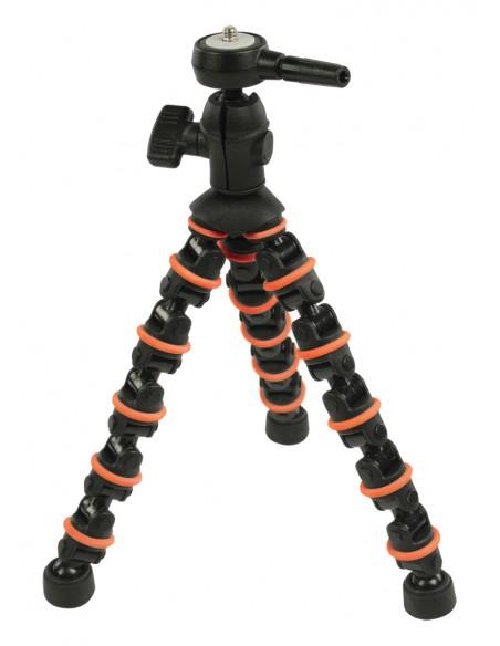 CamLink CL-TP140 kolmijalka Digitaalinen ja elokuva-kamerat 3 jalkoja Musta, Oranssi Camlink CL-TP140 - 9