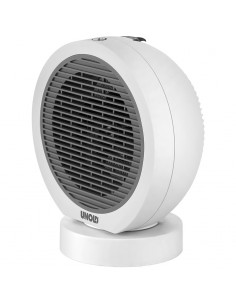 Unold Rondo Sähkökäyttöinen lämpötuuletin Sisätila Harmaa, Valkoinen 2000 W Unold 86130 - 1