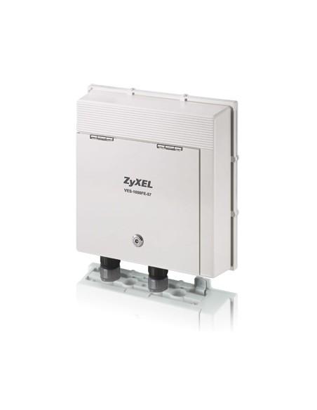 Zyxel VES-1608FE-57A langallinen reititin Gigabitti Ethernet Valkoinen Zyxel 91-004-975002B - 1