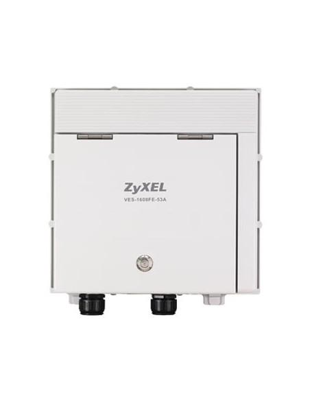 Zyxel VES-1608FE-57A langallinen reititin Gigabitti Ethernet Valkoinen Zyxel 91-004-975002B - 2