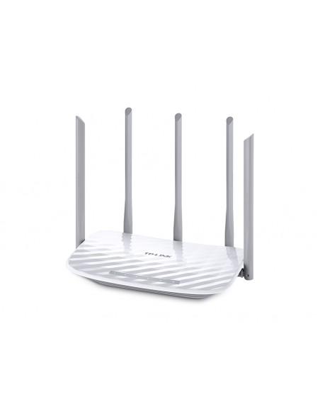 TP-LINK AC 1350 langaton reititin Kaksitaajuus (2,4 GHz/5 GHz) Nopea Ethernet Valkoinen Tp-link ARCHER C60 - 2