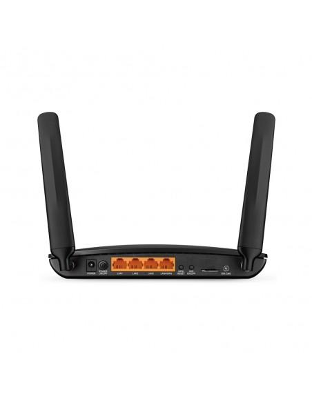 TP-LINK Archer MR400 langaton reititin Kaksitaajuus (2,4 GHz/5 GHz) Nopea Ethernet 3G 4G Musta Tp-link ARCHER-MR400 - 3
