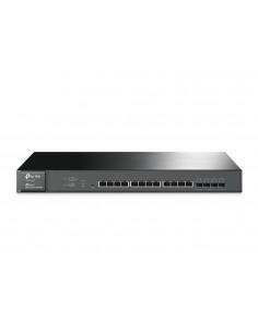 TP-LINK T1700X-16TS verkkokytkin L2+ 10G Ethernet (100/1000/10000) Musta 1U Tp-link T1700X-16TS - 1