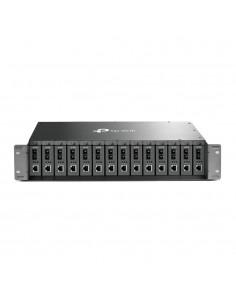 TP-LINK TL-MC1400 verkkolaitekotelo Musta Tp-link TL-MC1400 - 1
