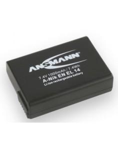 Ansmann A-NIK EN EL 14 Litiumioni (Li-Ion) 1000 mAh Ansmann 1400-0042 - 1