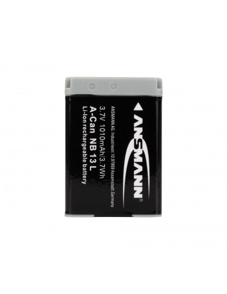 Ansmann 1400-0069 kameran/videokameran akku Litiumioni (Li-Ion) 1010 mAh Ansmann 1400-0069 - 2