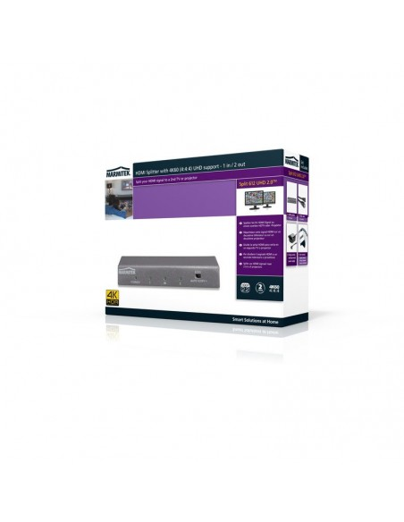 Marmitek Split 612 UHD 2.0 HDMI 2x Marmitek 8323 - 2