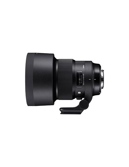 Sigma 105mm F1.4 DG HSM SLR Telezoom-objektiivi Musta Sigma 259965 - 2