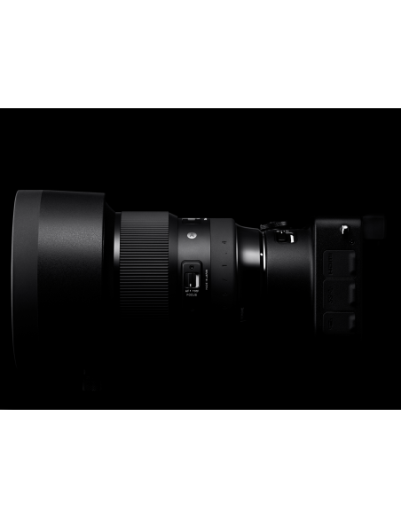 Sigma 105mm F1.4 DG HSM SLR Telezoom-objektiivi Musta Sigma 259965 - 8