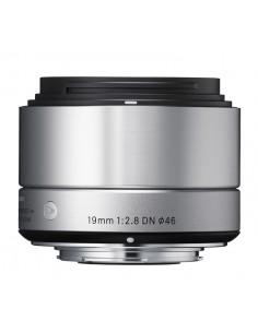 Sigma 19mm F2.8 DN MILC Laajakulmaobjektiivi Hopea Sigma 40S963 - 1
