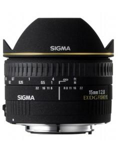 Sigma Fisheye 15mm f/2.8 EX DG Diagonal for Nikon AF-D Musta Sigma 476944 - 1