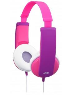 JVC HA-KD5-P-E headphones/headset Kuulokkeet Pääpanta Vaaleanpunainen, Purppura Jvc HAKD5P - 1