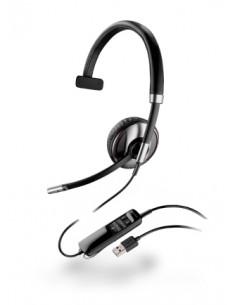 POLY 87505-01 kuulokkeet ja kuulokemikrofoni Pääpanta Musta Plantronics 87505-01 - 1