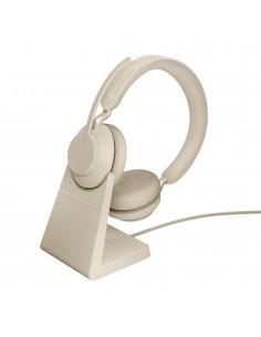 Jabra Evolve2 65. UC Stereo Kuulokkeet Pääpanta Beige Jabra 26599-989-988 - 1