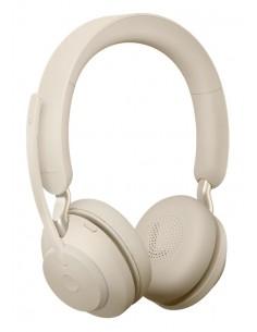 Jabra Evolve2 65. MS Stereo Kuulokkeet Pääpanta Beige Jabra 26599-999-998 - 1