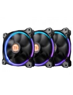 Thermaltake RIing 14 (3 Fan Pack) Tietokonekotelo Tuuletin cm Musta Thermaltake CL-F043-PL14SW-B - 1