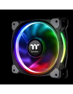 Thermaltake CL-F054-PL12SW-A tietokoneen jäähdytyskomponentti Tietokonekotelo Jäähdytin 12 cm Musta Thermaltake CL-F054-PL12SW-A