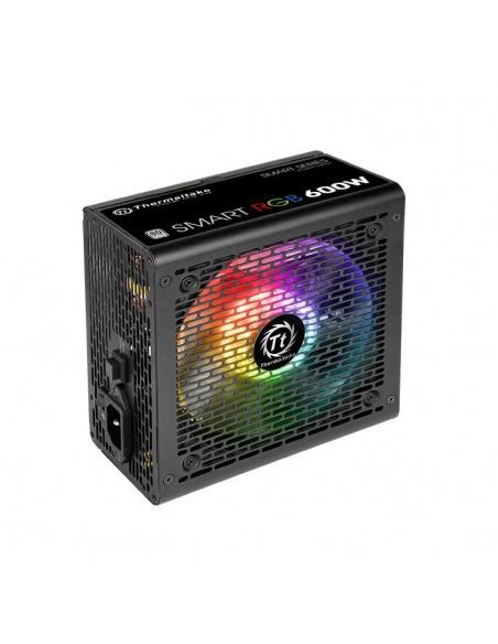 Thermaltake Smart RGB virtalähdeyksikkö 600 W 20+4 pin ATX Musta Thermaltake PS-SPR-0600NHSAWE-1 - 2