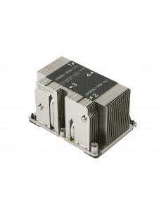 Supermicro SNK-P0068PSC datorkylningsutrustning Processor Kylfläns Grå Supermicro SNK-P0068PSC - 1