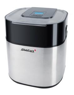 Steba IC 30 Perinteinen jäätelökone 1.5 L Musta, Ruostumaton teräs 9.5 W Steba 056000 - 1