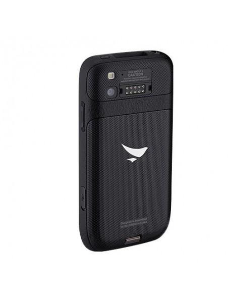"Bluebird EF400 mobiilitietokone 10.2 cm (4"") 800 x 480 pikseliä Kosketusnäyttö 200 g Musta Bluebird EF400-A4LAW - 3"