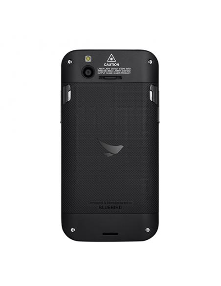"Bluebird EF500 mobiilitietokone 12.7 cm (5"") 1280 x 720 pikseliä Kosketusnäyttö 260 g Musta Bluebird EF500-A4LDH - 4"