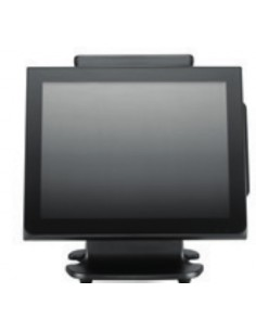 "Partner Tech WT-130 38.1 cm (15"") 1024 x 768 pikseliä Kosketusnäyttö 1.58 GHz N2807 All-in-one Musta Partner Tech IMP.WT130.005"