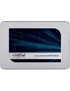 "Crucial MX500 2.5"" 500 GB Serial ATA III QLC 3D NAND Micron CT500MX500SSD1T - 1"