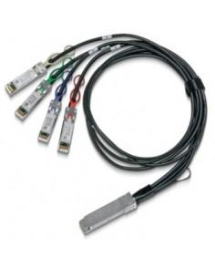 Mellanox Technologies MCP7F00-A001R30N valokuitukaapeli 1 m LSZH QSFP28 4x SFP28 Musta Mellanox Hw MCP7F00-A001R30N - 1