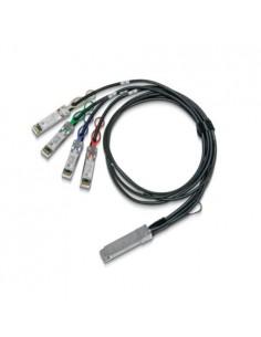 Mellanox Technologies MCP7F00-A02AR26N InfiniBand-kaapeli 2,5 m QSFP28 4x SFP28 Musta Mellanox Hw MCP7F00-A02AR26N - 1