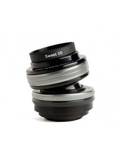 Lensbaby Composer Pro II with Sweet 50 Optic SLR Musta, Hopea Lensbaby LBCP250M - 1